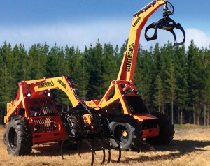 New Hin-Tech excavator yarder – the muscle behind steep slope harvesting